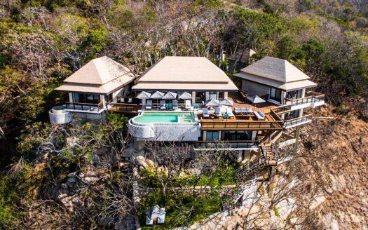 Panoramica villa agave banyan tree acapulco